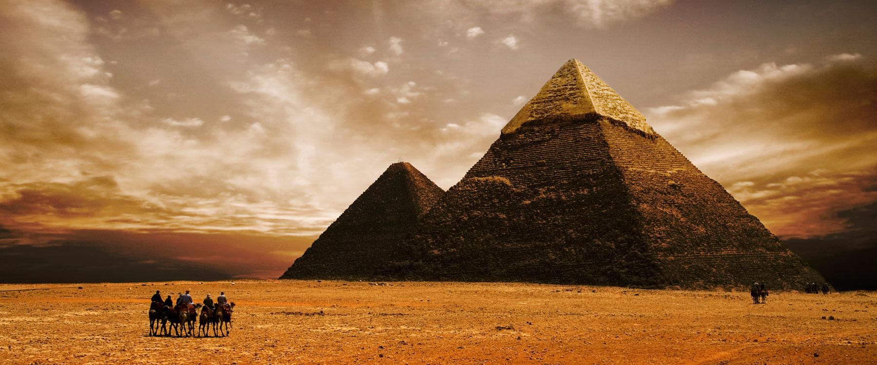 ストリートビューにエジプトのピラミッドが追加